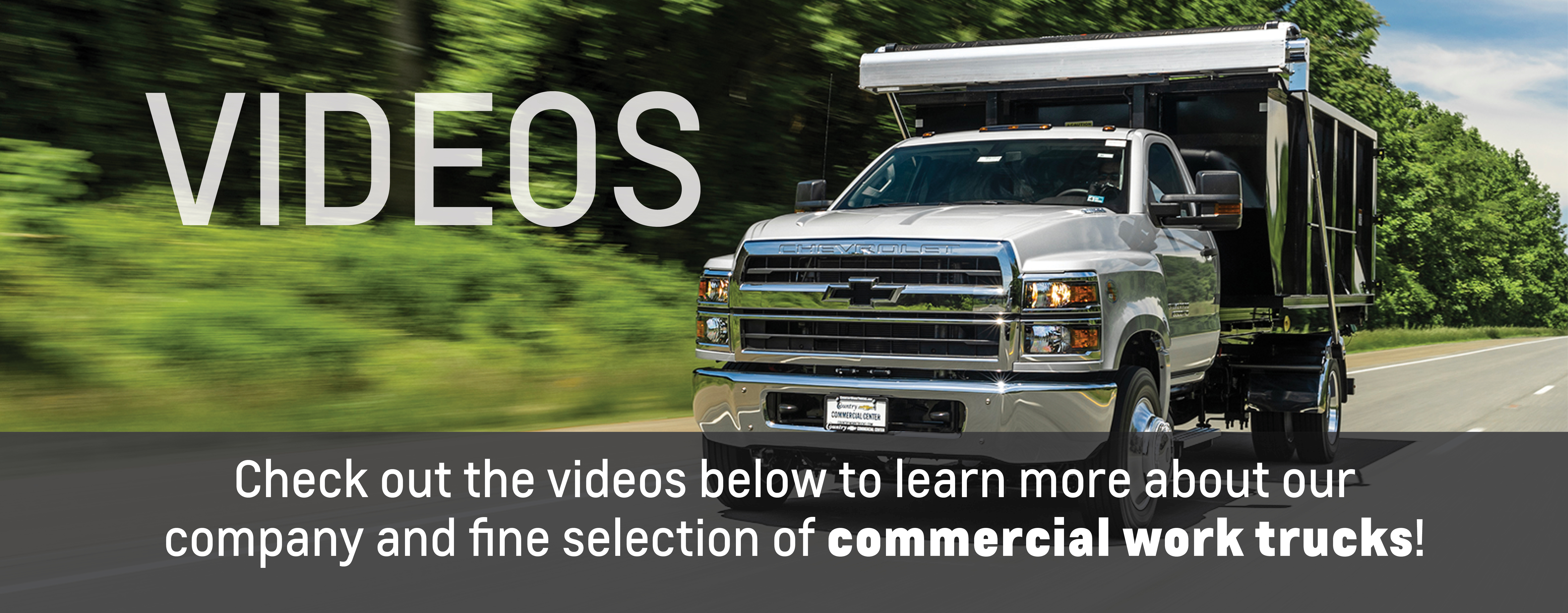 Country Commercial Center Serving Warrenton Va Chevrolet New Used Cars Videos
