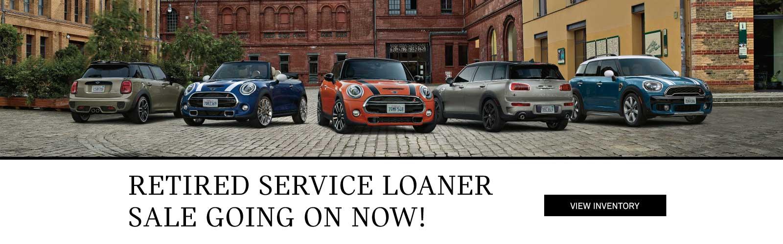 Retired Service Loaner Sale 1/4/19