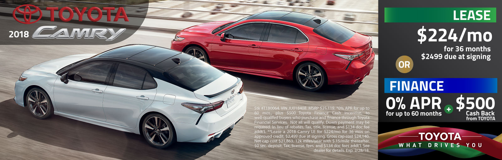 2018 Camry Special
