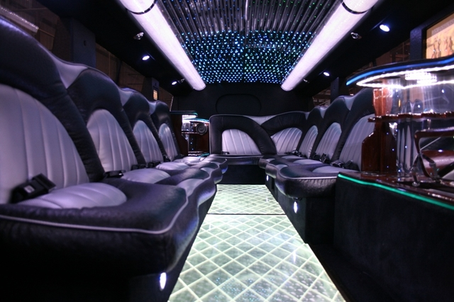 Mirrored Fiber Limousine