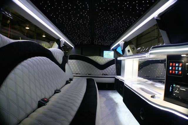 Limousine Interior Photos