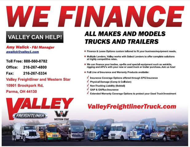 Used Freightliner Cascadia at Valley Freightliner Serving Parma, OH