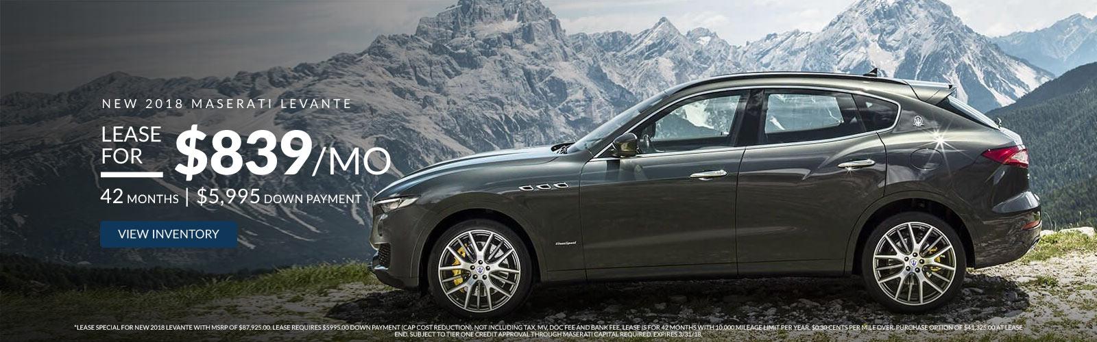 Maserati Of Central New Jersey Maserati Car Dealer Manhattan - Maserati car dealership