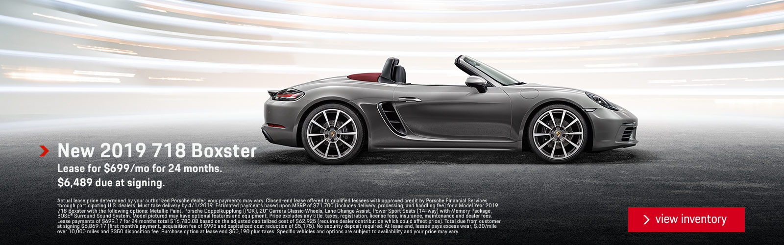Boxster 1/9/19