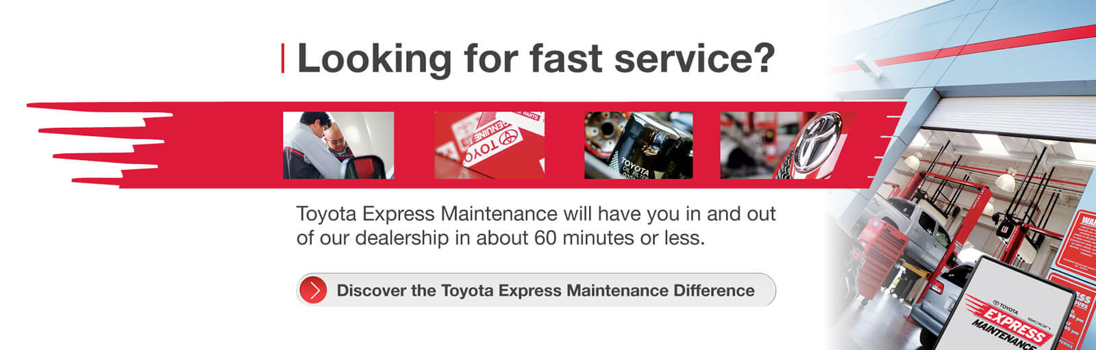 Toyota Express Maintenance - 7/11/2017