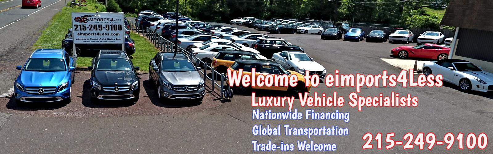 BMW & Mercedes Used Cars - Doylestown & Bucks County, PA | eimports4Less