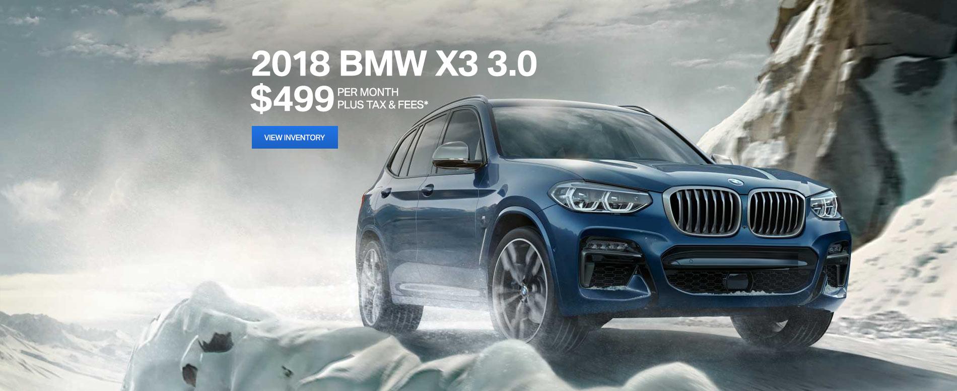 BMW X3 2/7/18