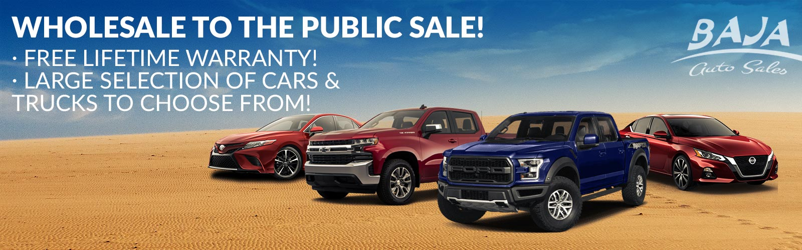 Public Auto Sales >> Used Car Dealer Las Vegas Summerlin Henderson Nv Baja Auto Sales