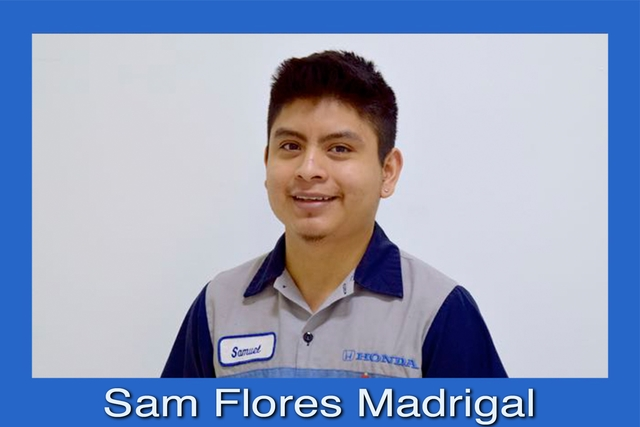 Service Technician Sam_Madrigal@rbhonda.com