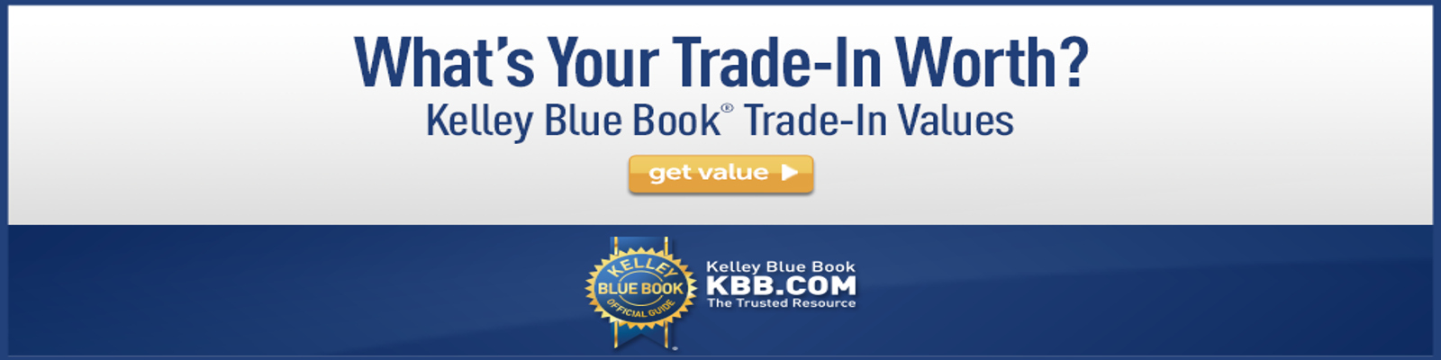 KBB Trade-In Value 11/8/18
