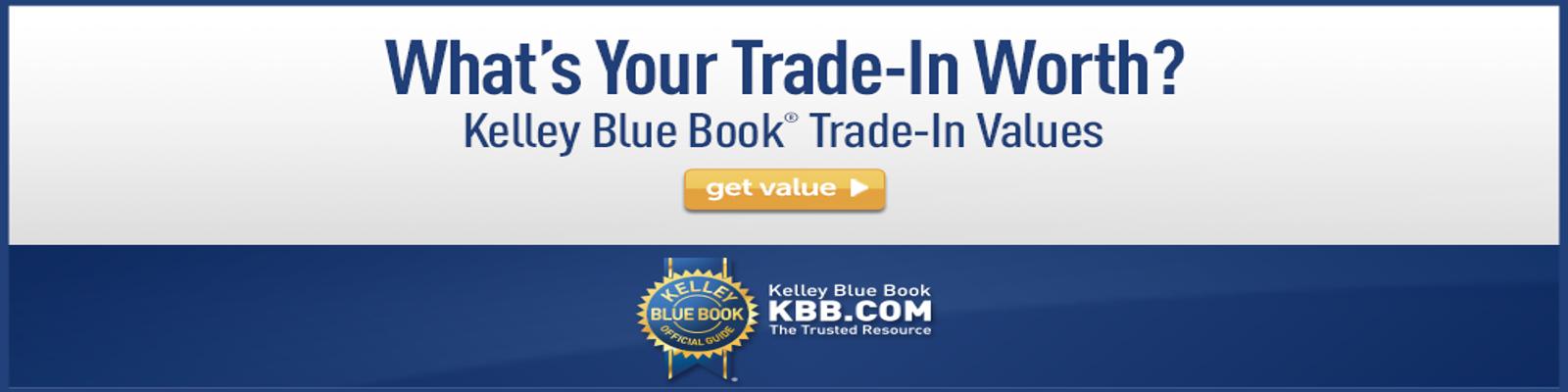 KBB Trade-In Value 11/8/18