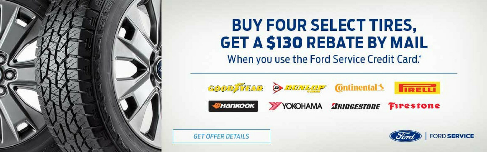 Ford Tire Offer april 18