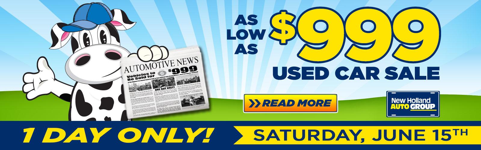 $999 Sale June2019 Slide