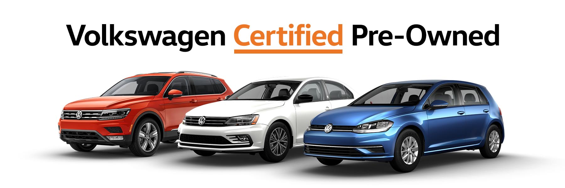 Volkswagen Certified Pre-Owned Vehicles