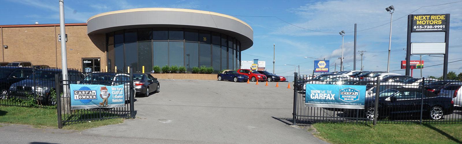 Car Lots In Nashville Tn >> Next Ride Motors Serving Nashville Tn