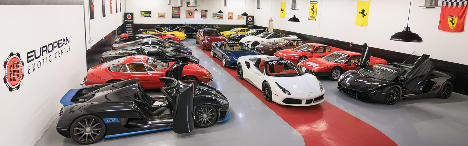 European Exotic Center Showroom