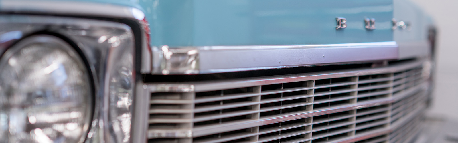 Slide Buick Grill