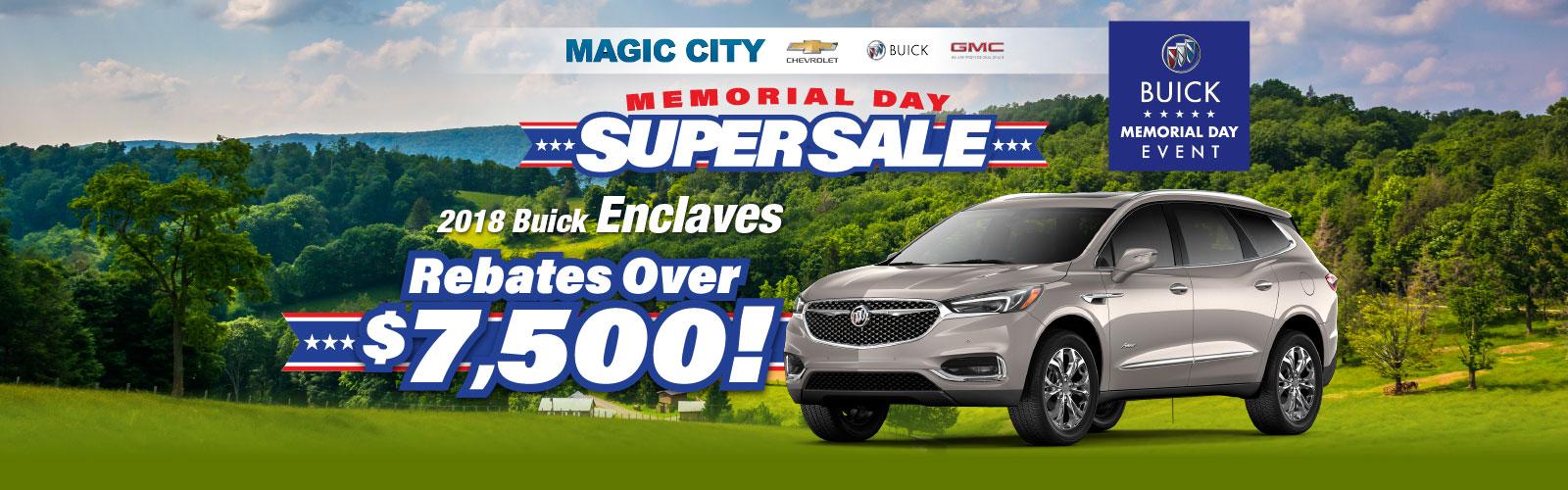 Buick Memorial Day 2019