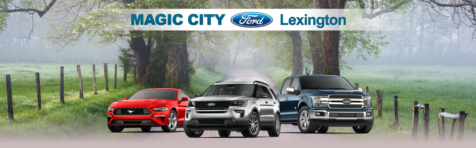 Magic City Ford Branding Graphic