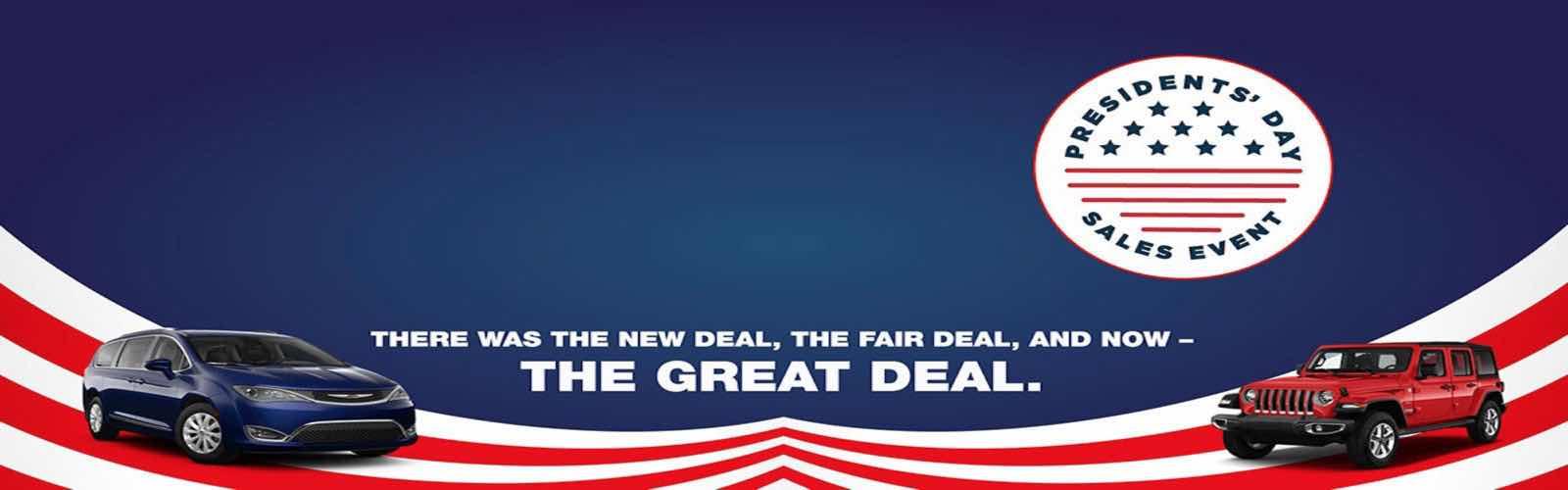 Presidents day banner 1