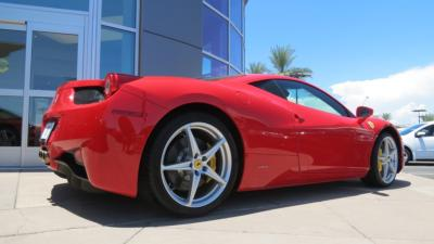 2015 Ferrari 458 Spider  - Click to see full-size photo viewer