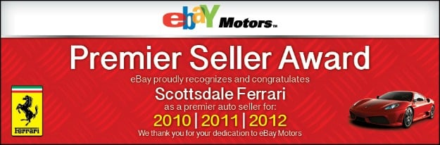 eBay Motors Award Dealership