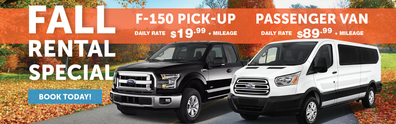 Watertown Ford Rental Special