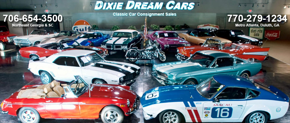 Dixie Dream Cars American Muscle To European Classics Collector