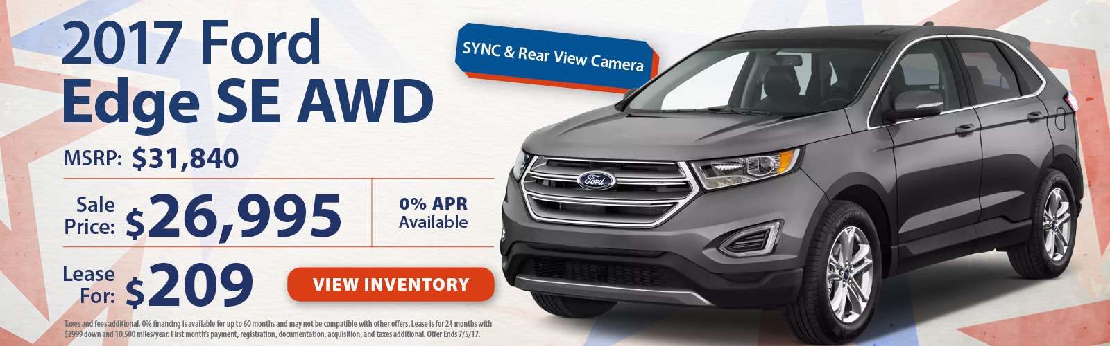 Stoneham Ford Edge June Special