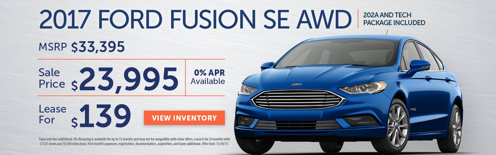 Fusion Stoneham Ford Nov 17