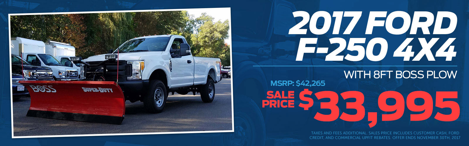F250 Plow Truck 11-3-17