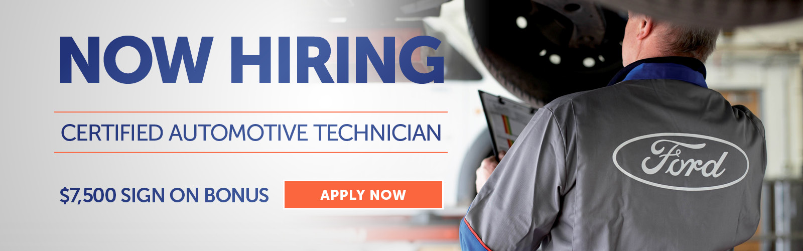 Now Hiring Automotive Technician Stoneham Ford