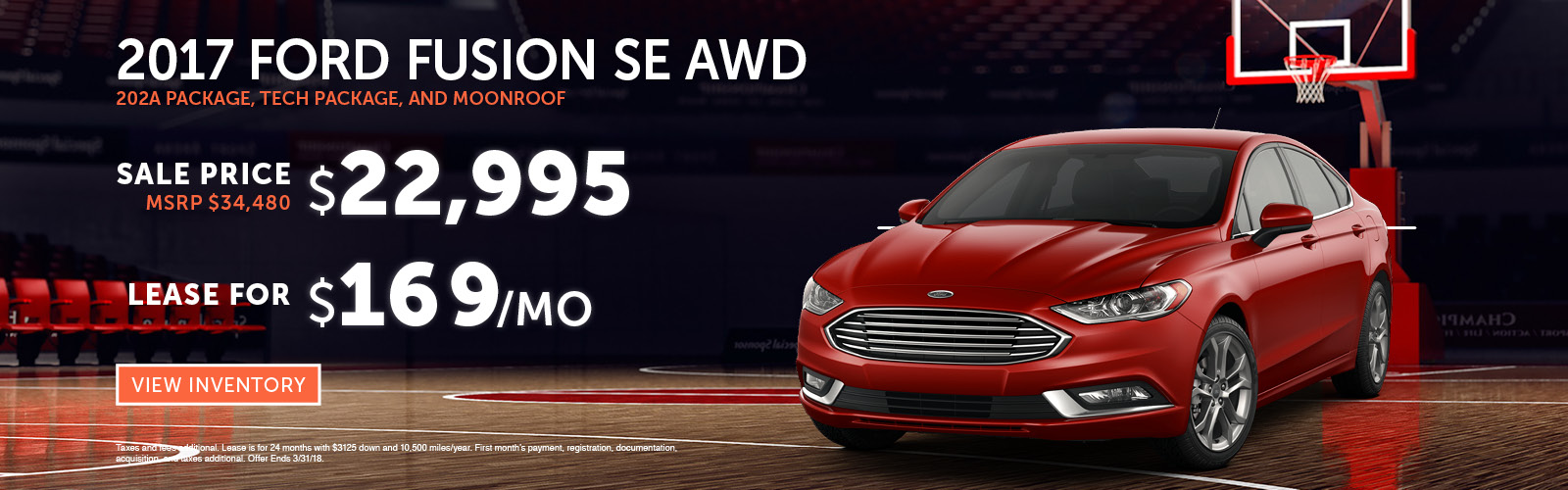 Fusion Special Stoneham Ford