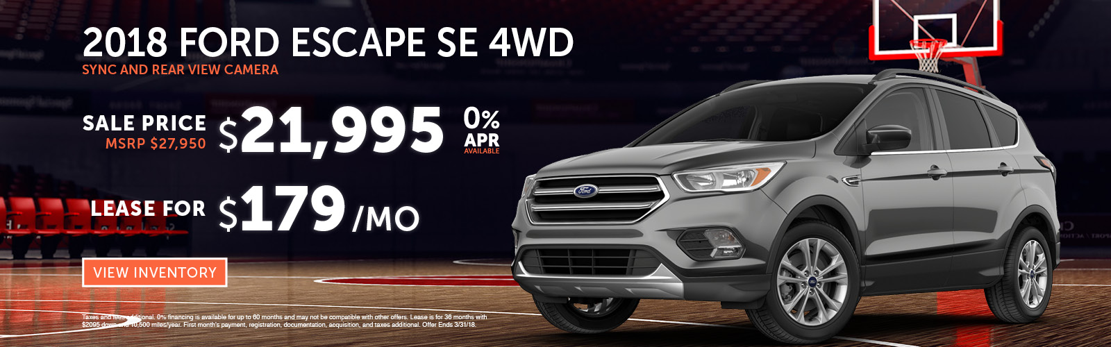 Escape Special Stoneham Ford