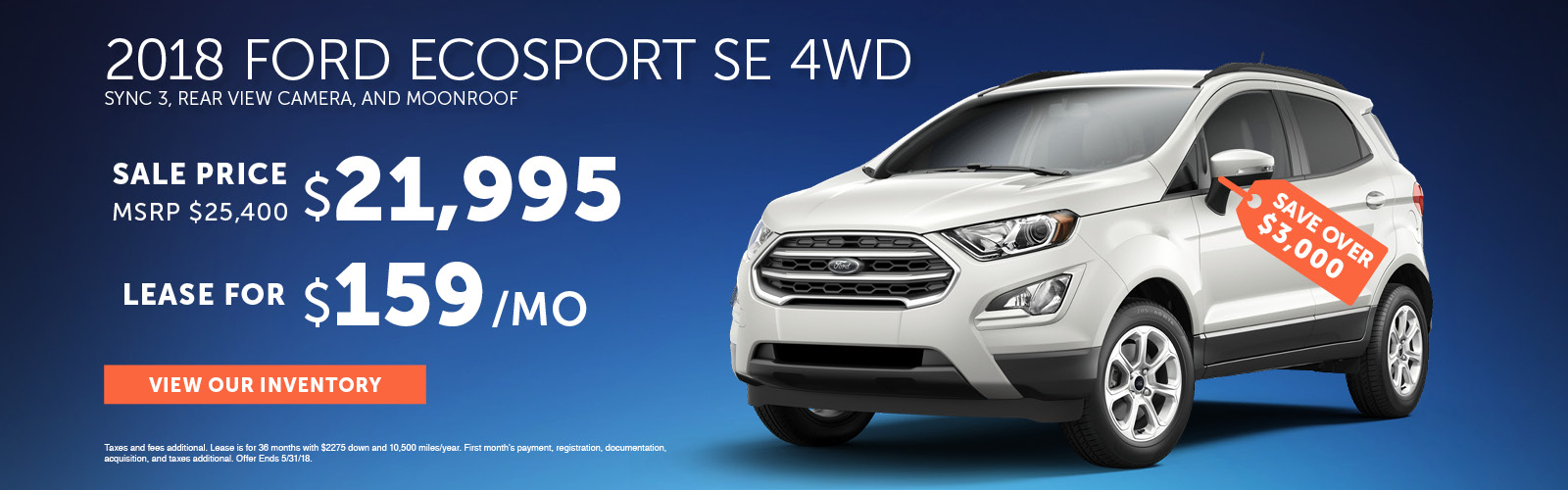 EcoSport Special May 2018 Update