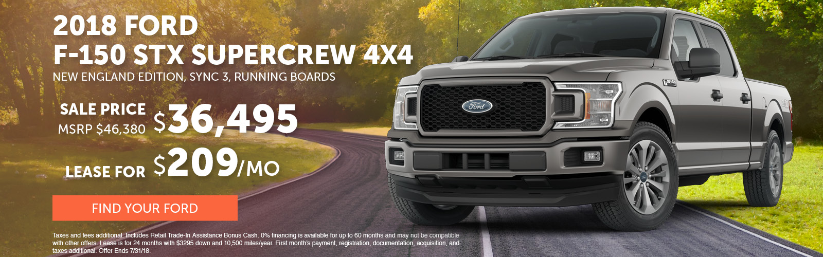 F150 SuperCrew July 2018 Special Update
