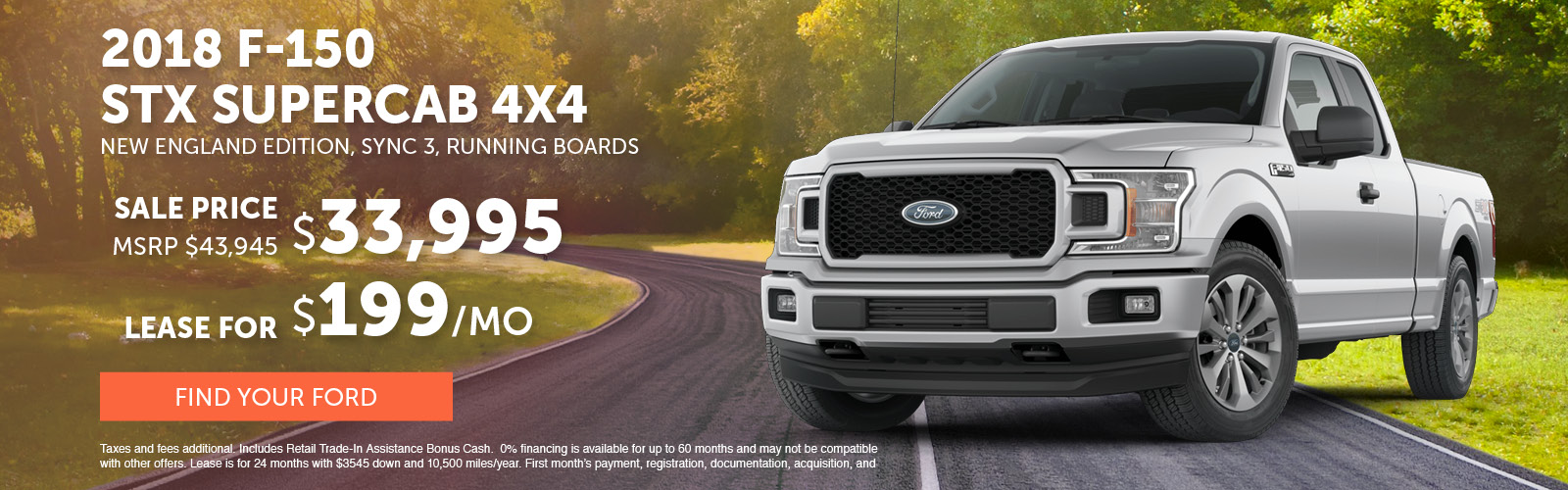 F150 Supercab July 2018 Special Update