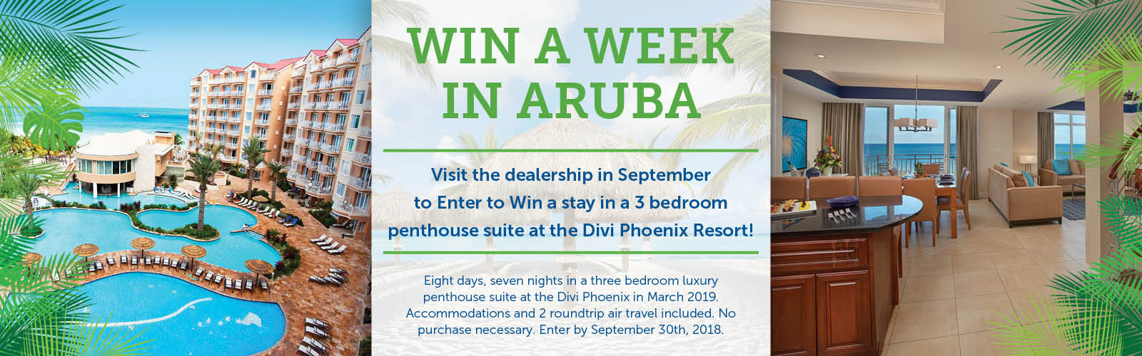 Stoneham Ford Aruba Giveaway 2018
