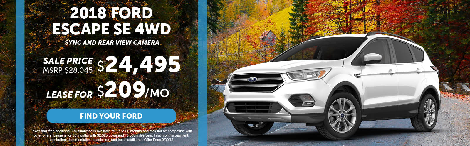 Ford Escape Special September 2018