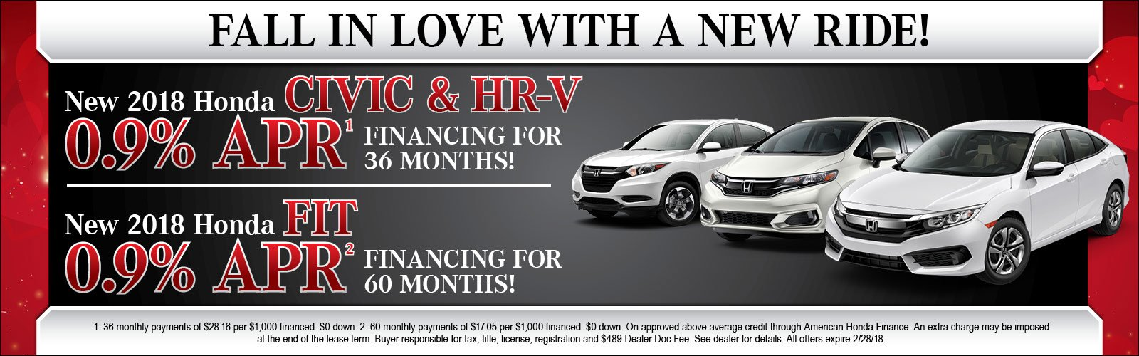Fit Civic HRV 2/8/18