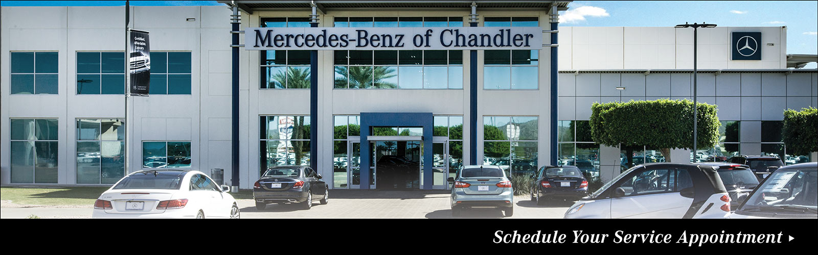 Mercedes benz new used car dealer serving phoenix az for Department of motor vehicles chandler arizona