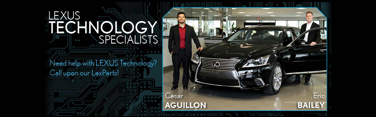 Lexus Technology Specialists