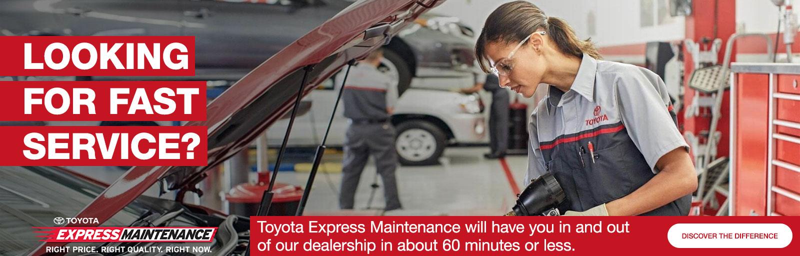 Express Maintenance updated 11/6/18