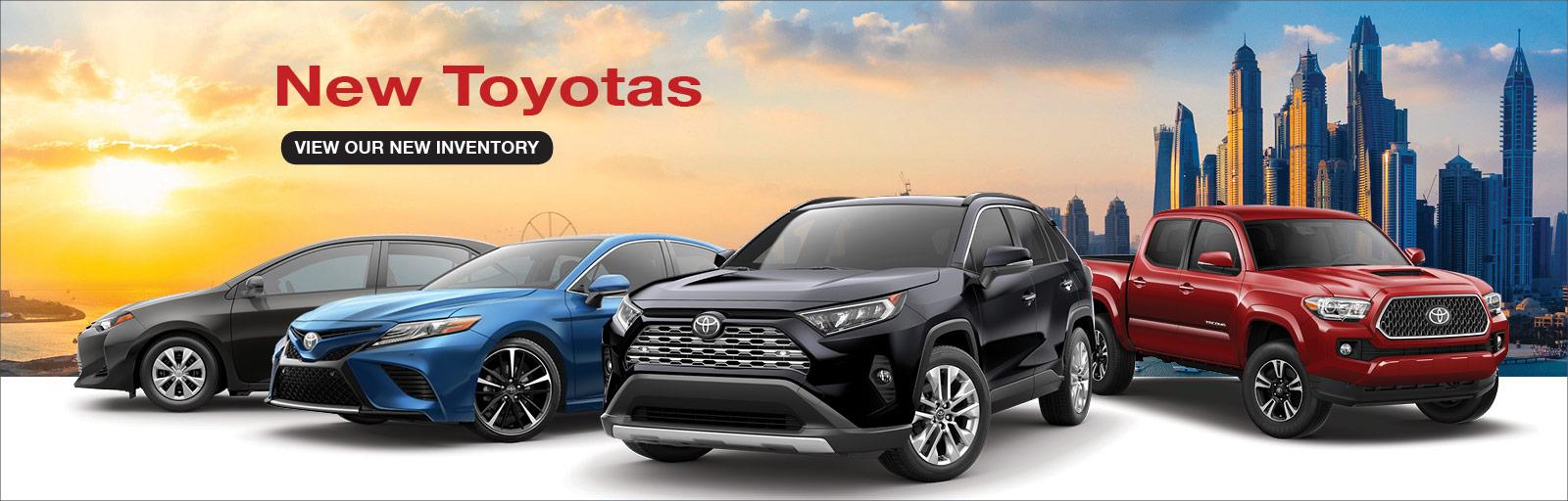 New Toyotas 1/10/19