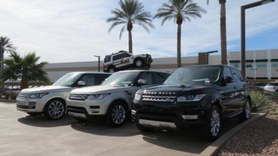 2017 Land Rover Range Rover V6 Supercharged HSE SWB - Click to see full-size photo viewer