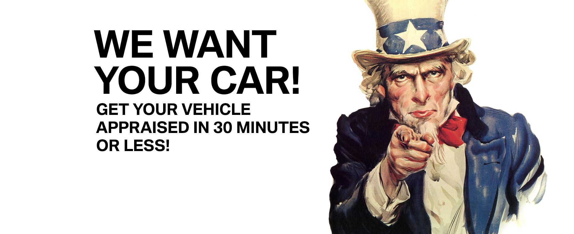we want your car 5/18