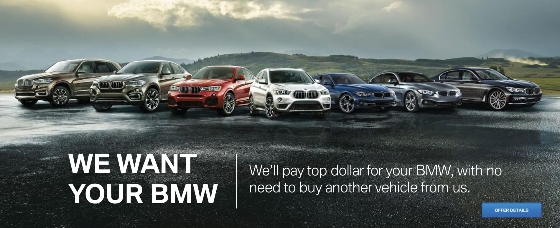 We Want Your BMW