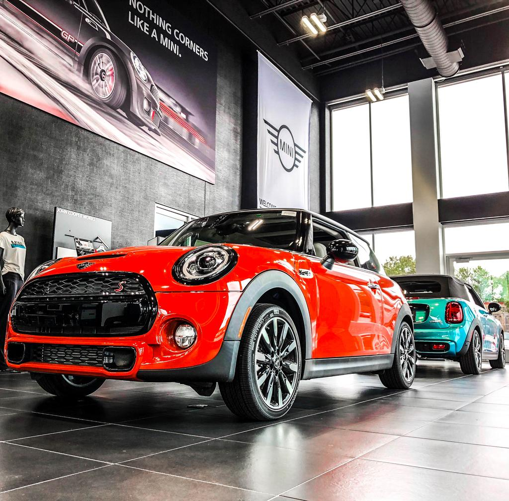 2019 New Mini John Cooper Works Convertible At Motorwerks