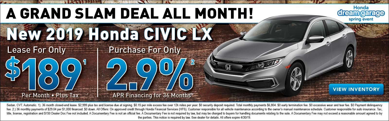 Civic 4/4/19