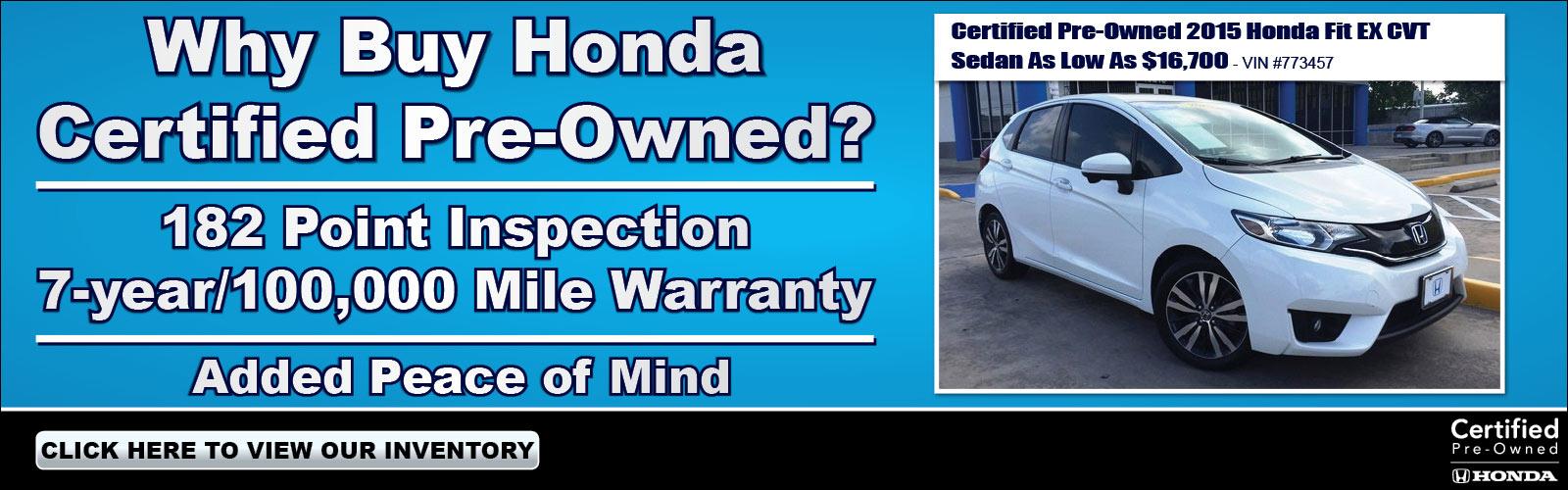 2017-2018 Honda New & Used Car Dealer - Houston, Sugar Land & Katy
